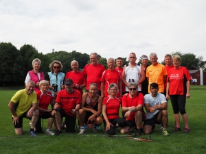 Trainingsgruppe im Juli 2016